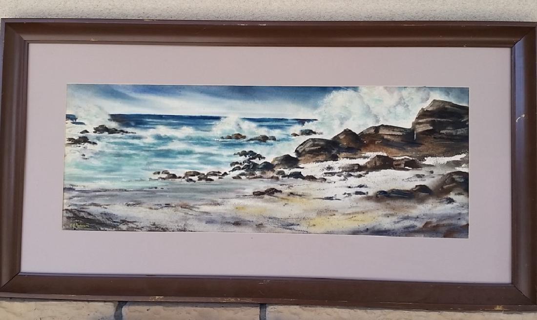 Beautiful Original Oil Painting of the Sea