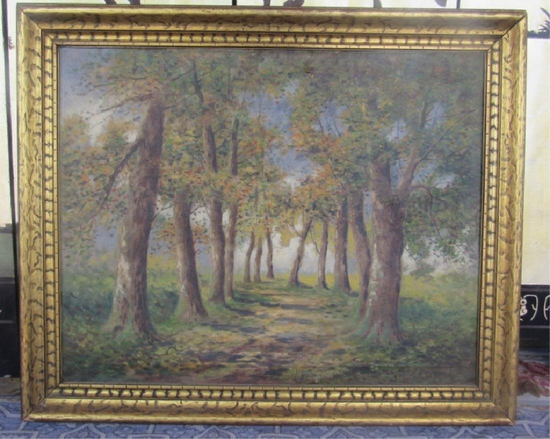 Landscape Painting in Frame