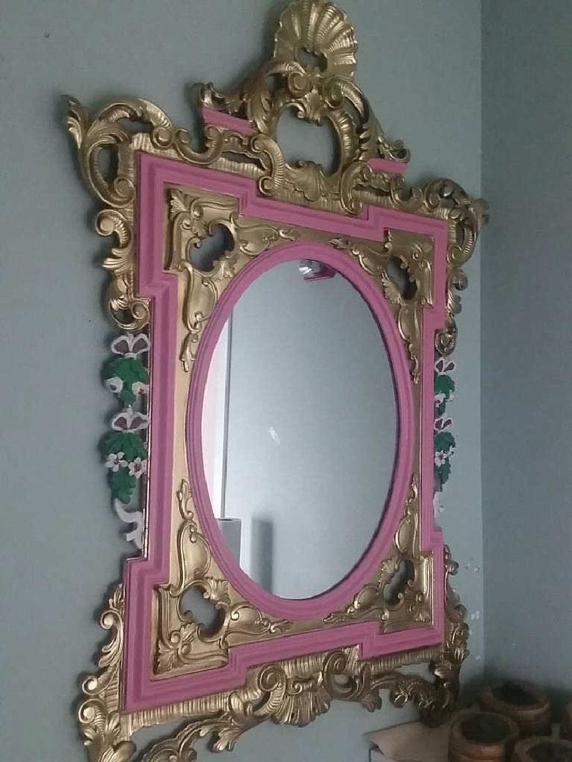 Mirror Goldfield on Wood