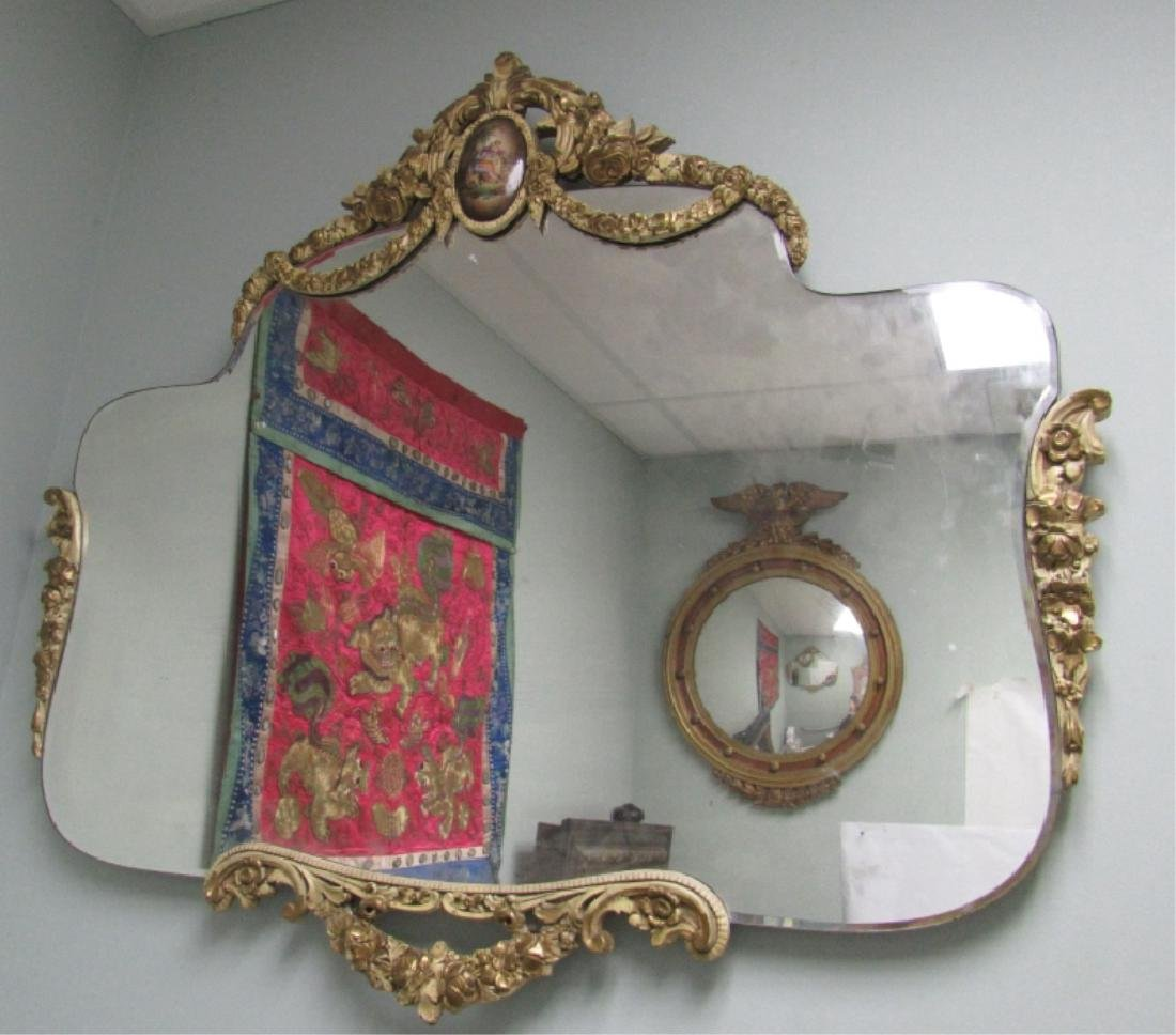 Unique Victorian Style Hanging Mirror