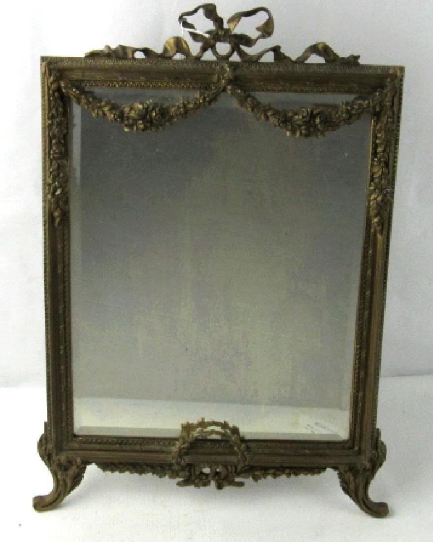 Marque PA Ornate Antique Mirror