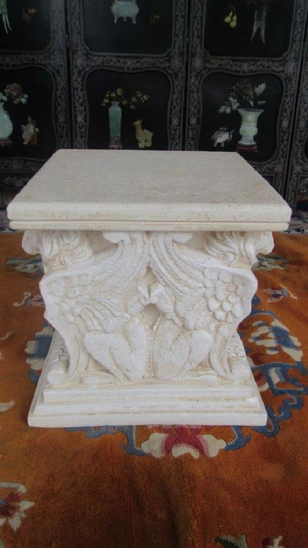 Plaster Plant Stands