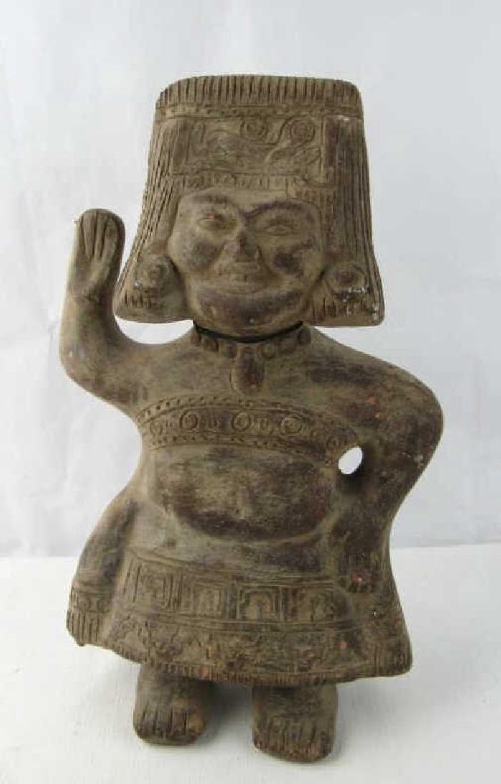 Pre-Columbian Clay Figurine