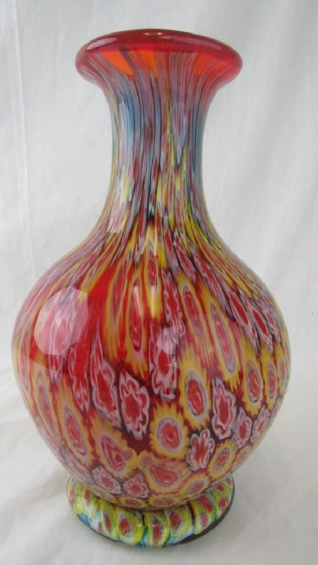 Multi-color Murano Glass Vase
