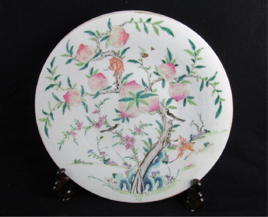 Very Beautiful,Ming Dynasty StylePorcelain Plate