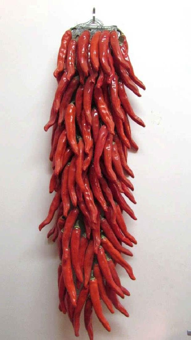 Very Beautiful Porcelain Red Pepper - 2