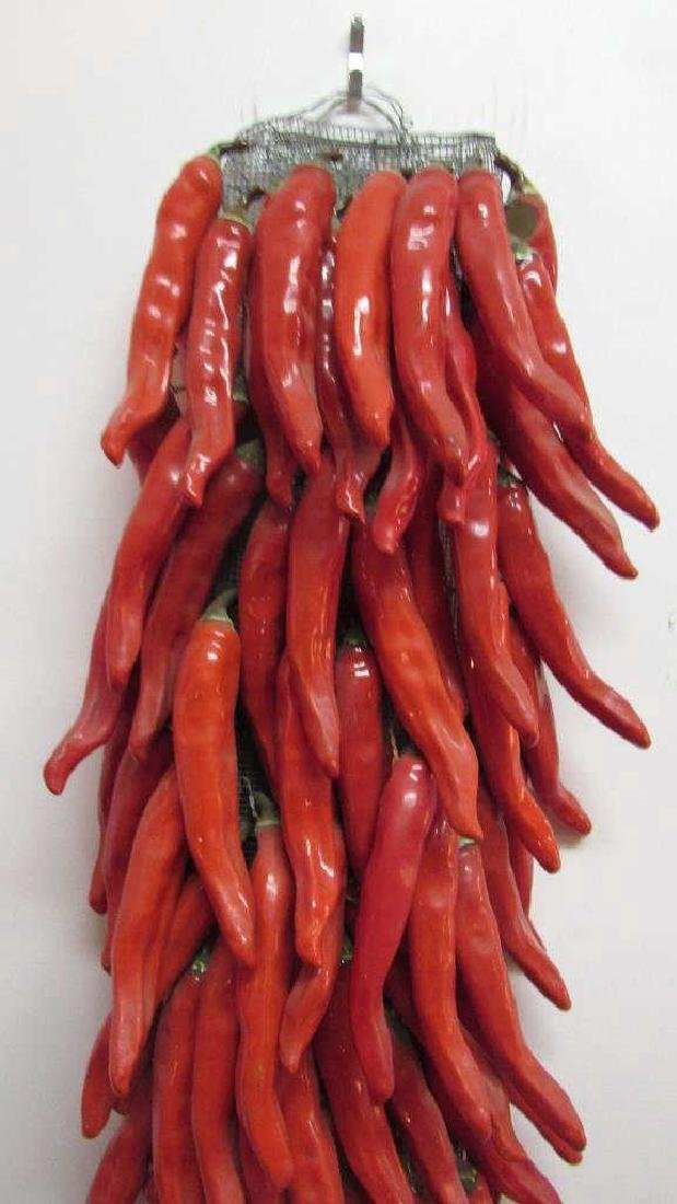 Very Beautiful Porcelain Red Pepper - 4