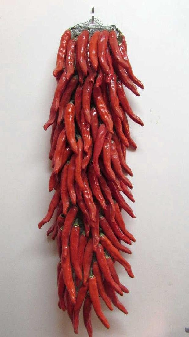 Very Beautiful Porcelain Red Pepper - 6