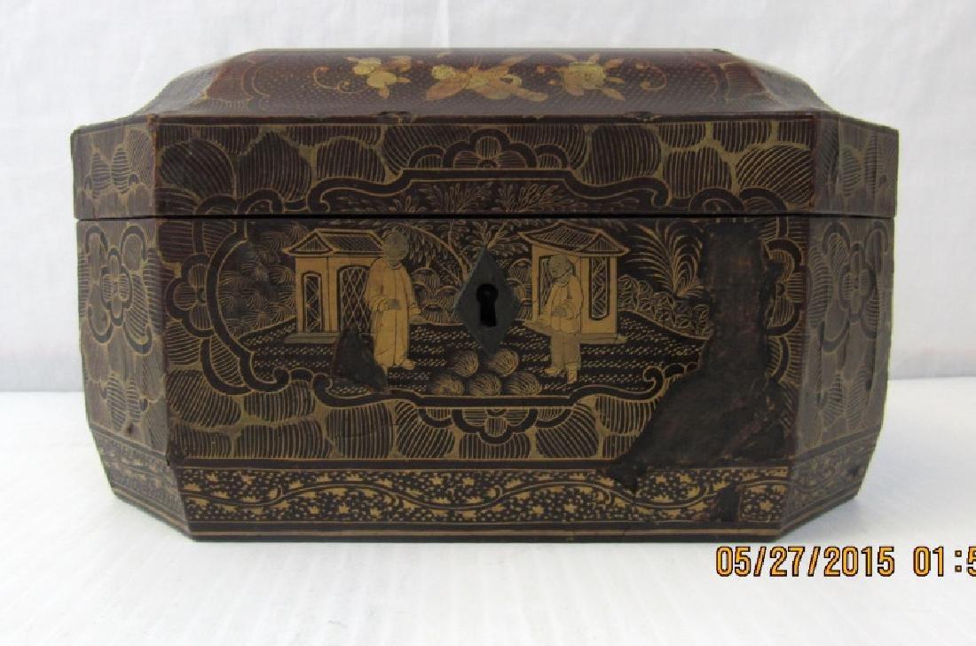 Chinese 19th Century Chanab Tea Box