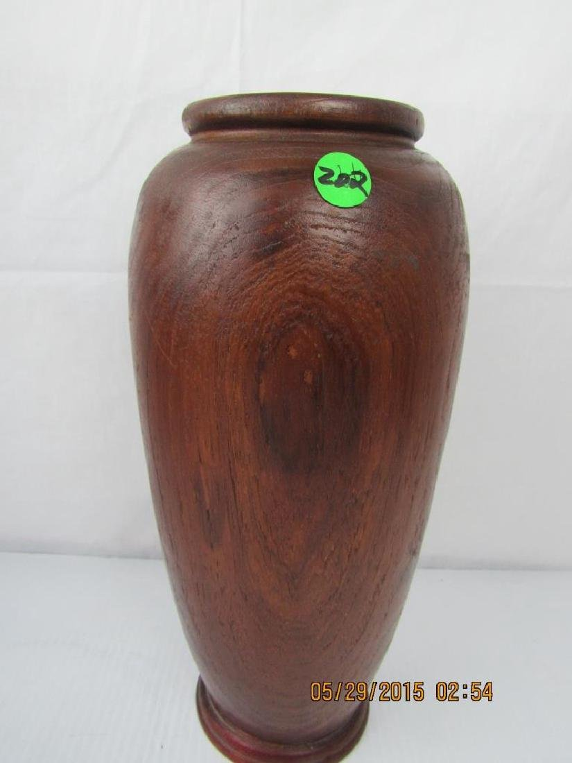 Old Yellow Rosewood Jar