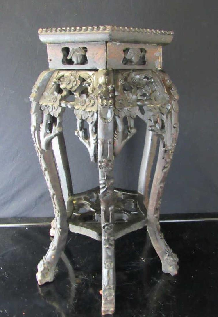 Beautiful Qing Dynasty Rosewood Plant Stand