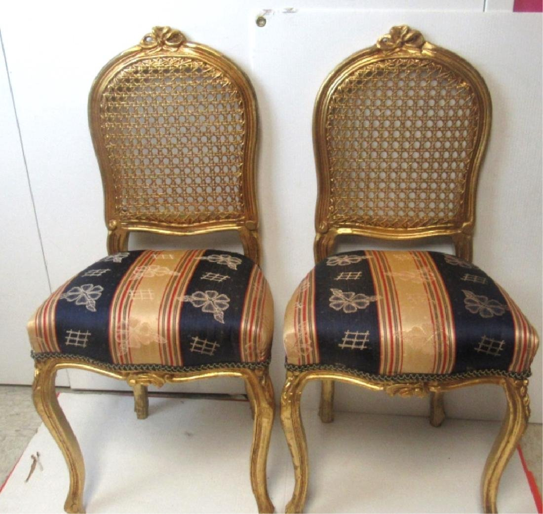 Lovely Pair of Louis XV Side Chairs