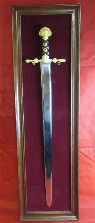Beautiful Mounted Sword