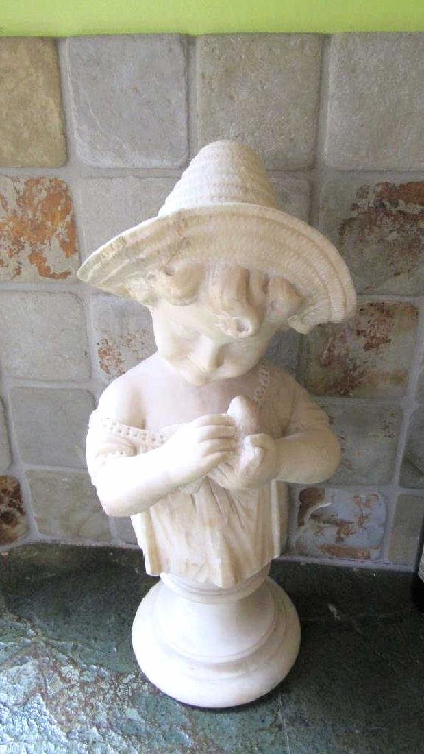 Very Old Marble Sculpture