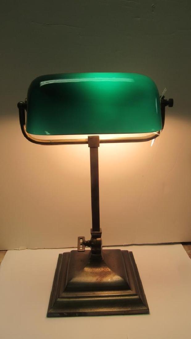 Vintage Copper Electric Lamp