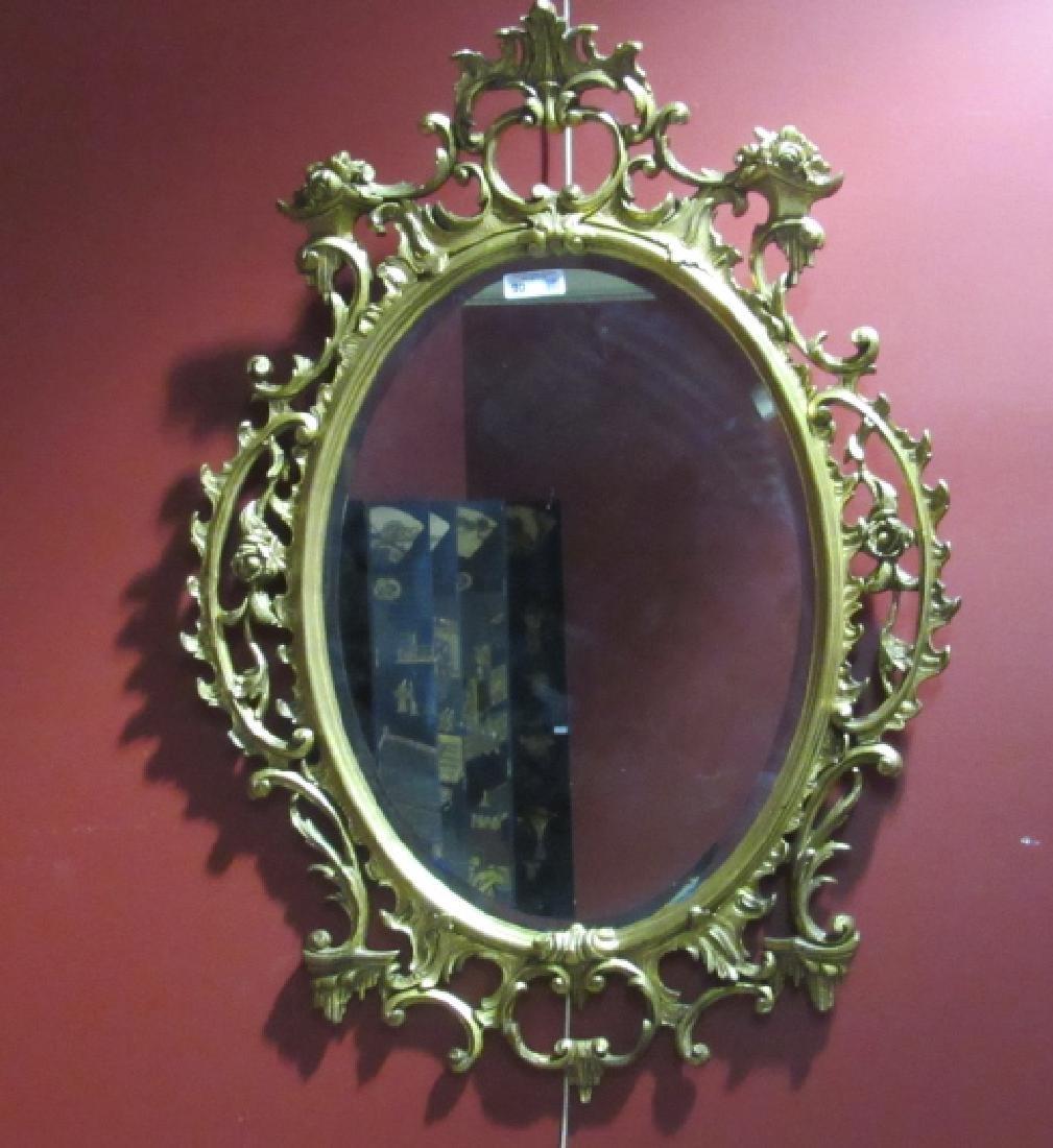 Elegant Victorian Hanging Mirror