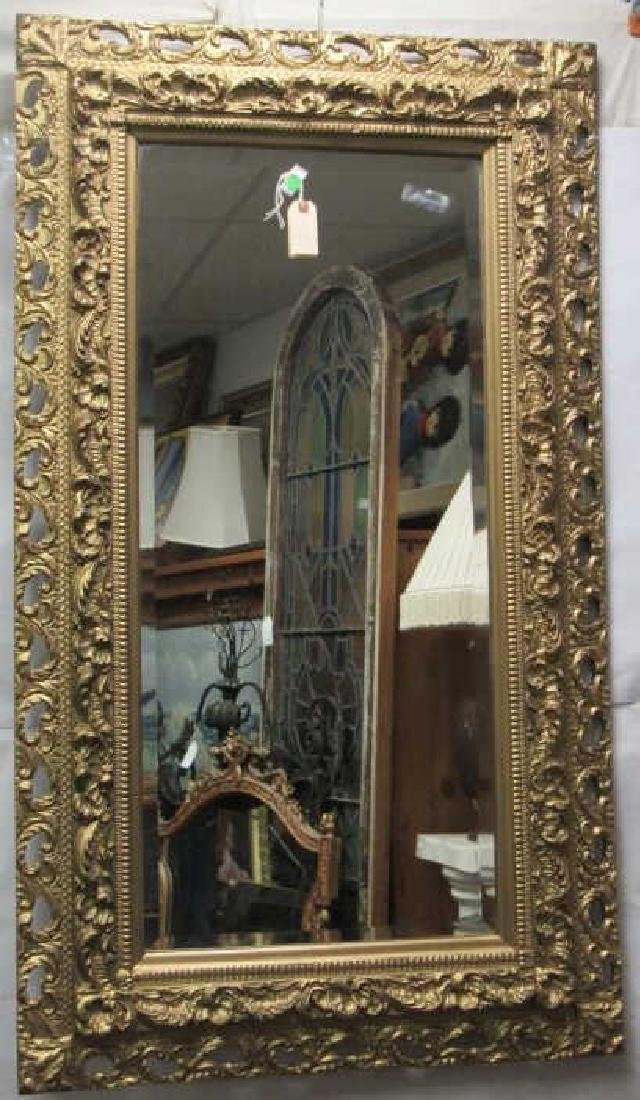 Very Beautiful Victorian Hanging Mirror