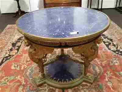 Empire Style Ormolu Center Table