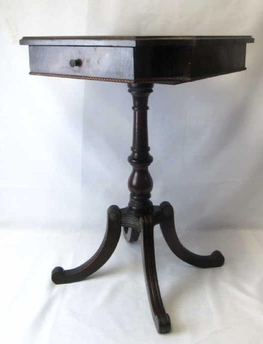 Victorian Style Wooden Side Table E