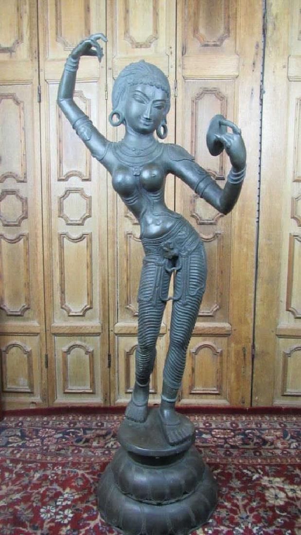 Southeast  Asian Dancing Deity Statue