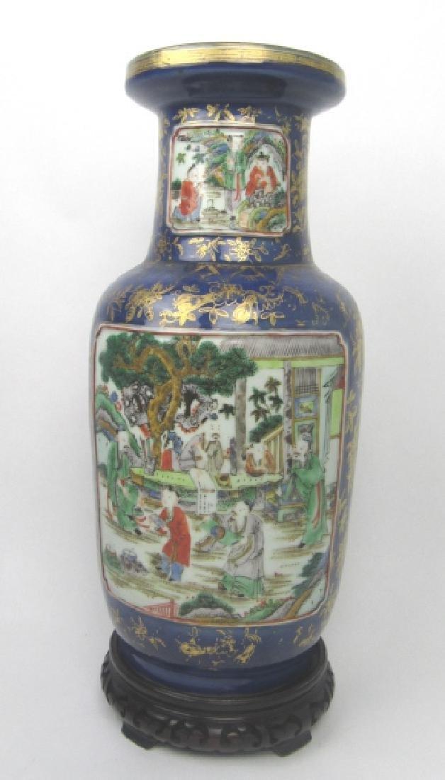 Chinese Porcelain Enameled Vase