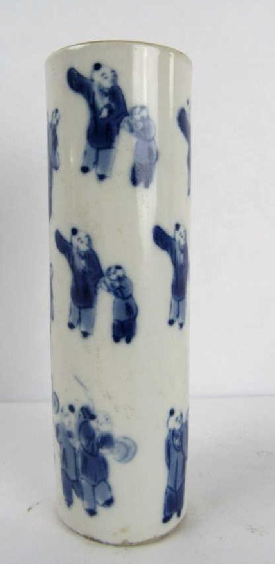 Chinese Old Enameled Pottery Vase