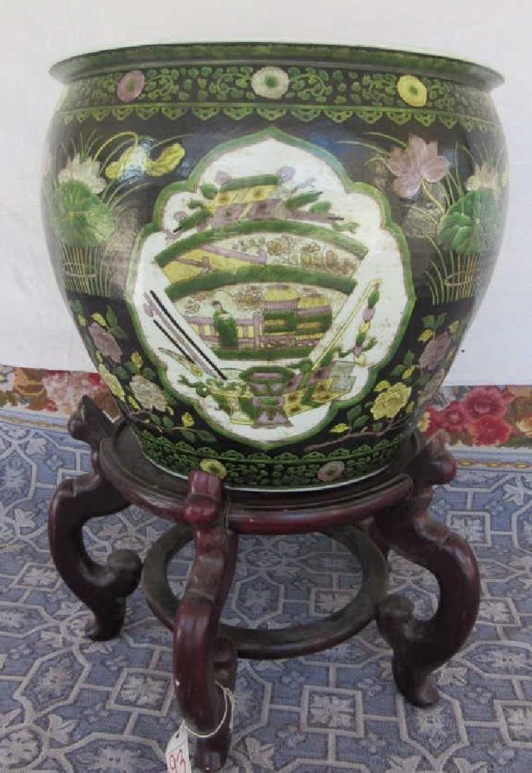 17th Century Qing Dynasty Fish Bowl