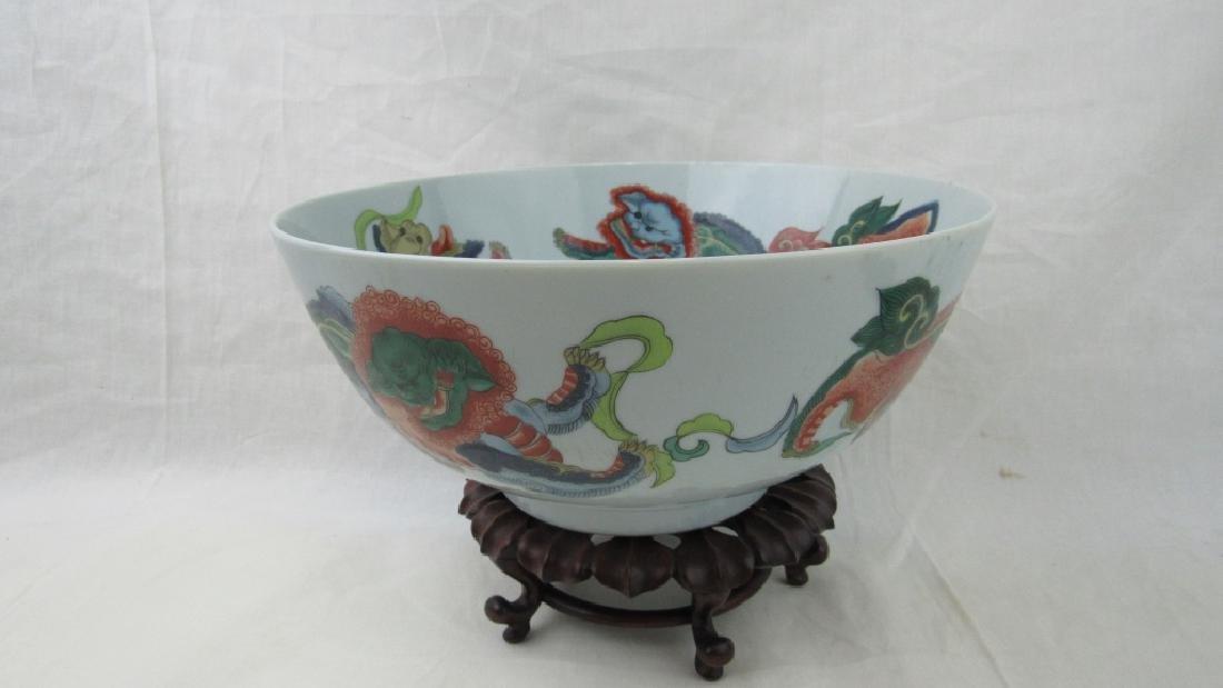 Very Old Porcelain Bowl