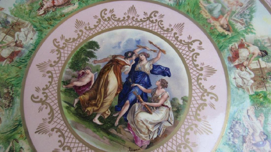 19th Century European Porcelain Platter