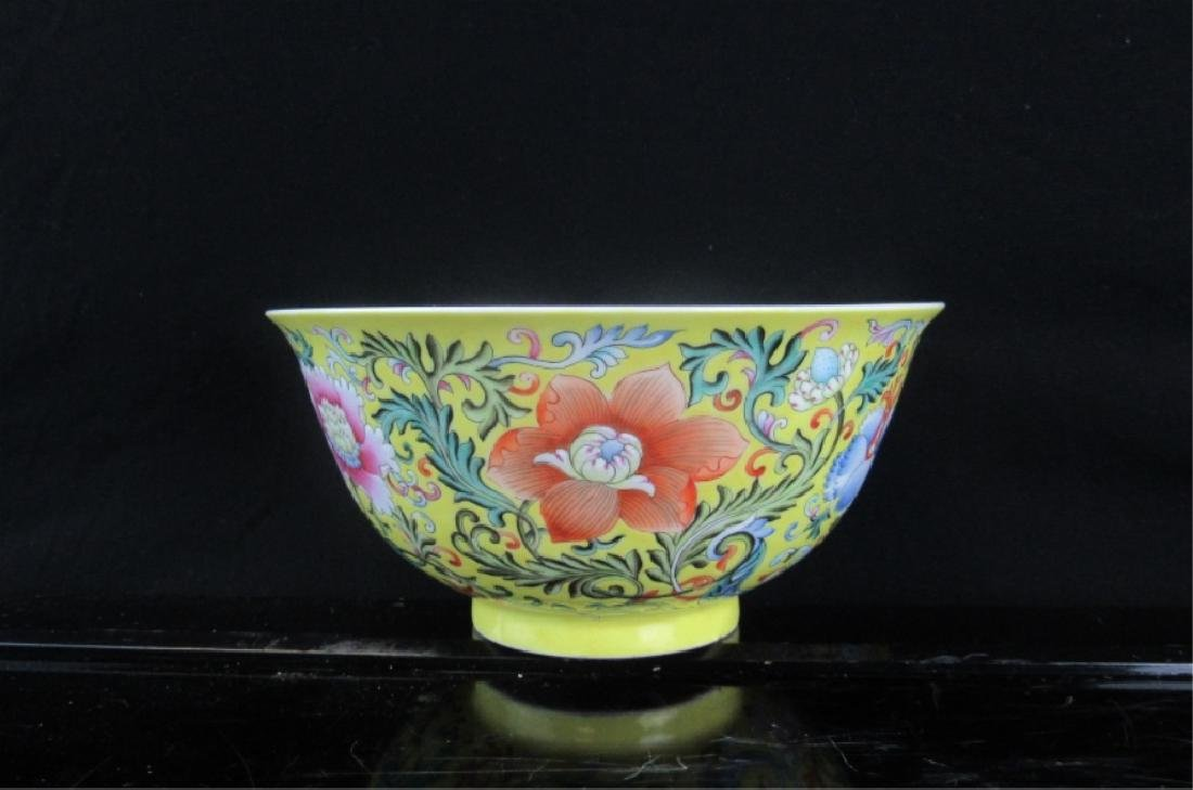 19th Century Chinese Qing Dynasty Porcelain Bowl