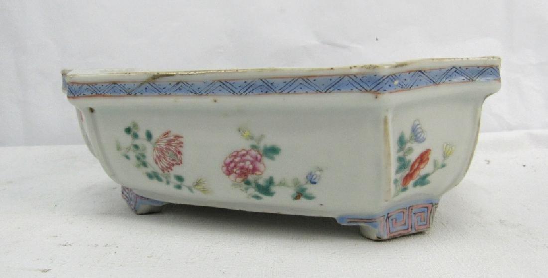 Octangular Porcelain Bowl