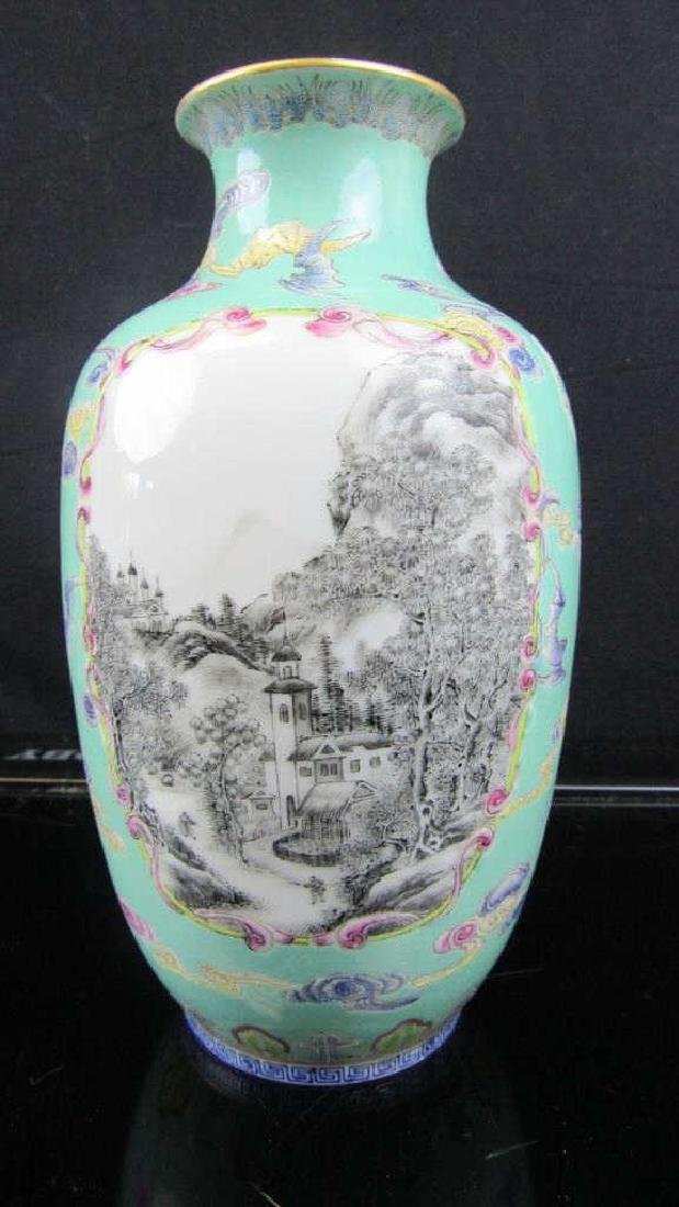 18 Th Century Qing Dynasty Porcelain Vase