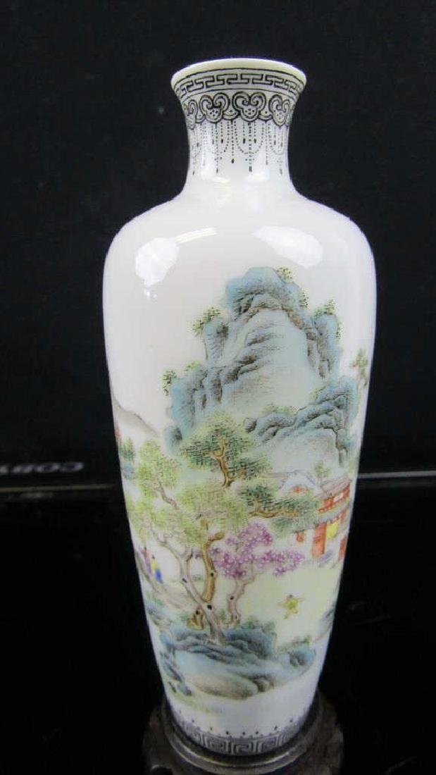 18th Century Chinese Qing Dynasty Porcelain Vase