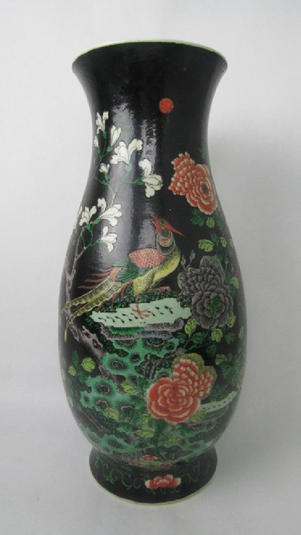 17-18Th Century Large Black Chinese Vase