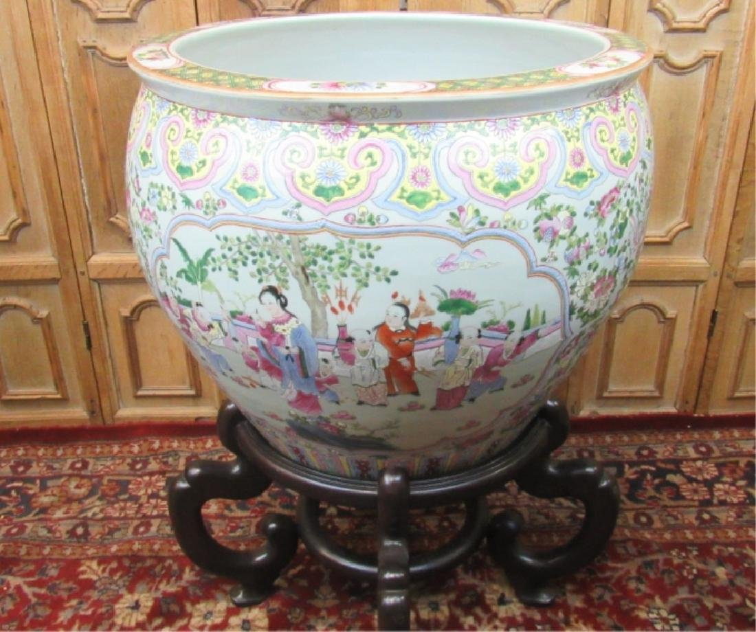 Large 19th Century Fishbowl
