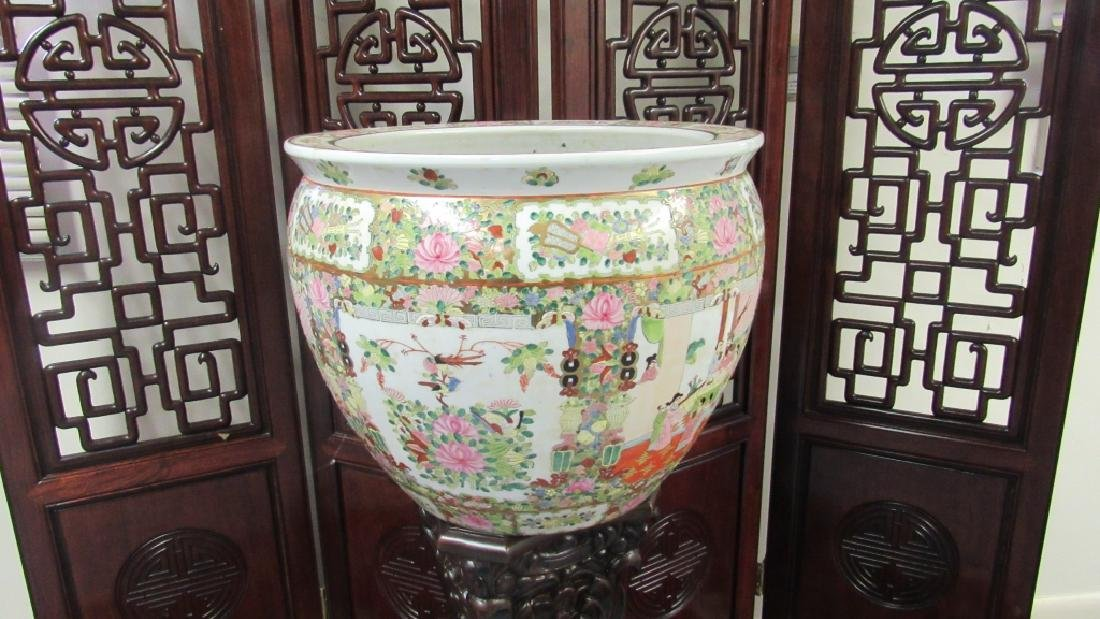 Large 19th Century Fish Bowl