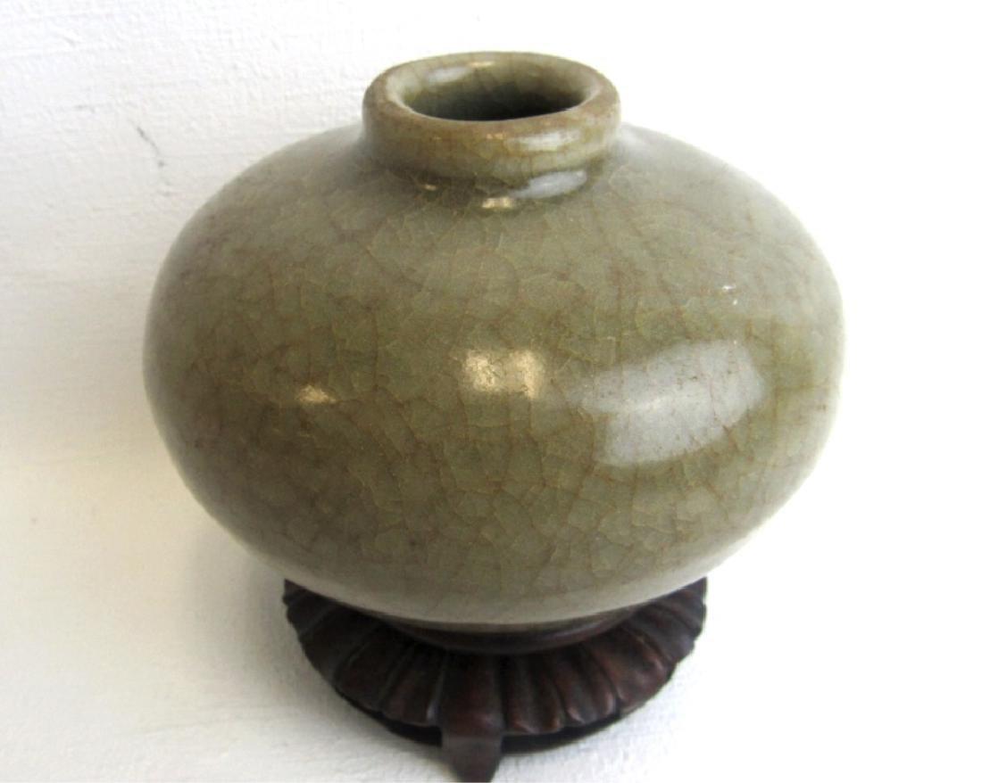 Old Glazed Water Vessel