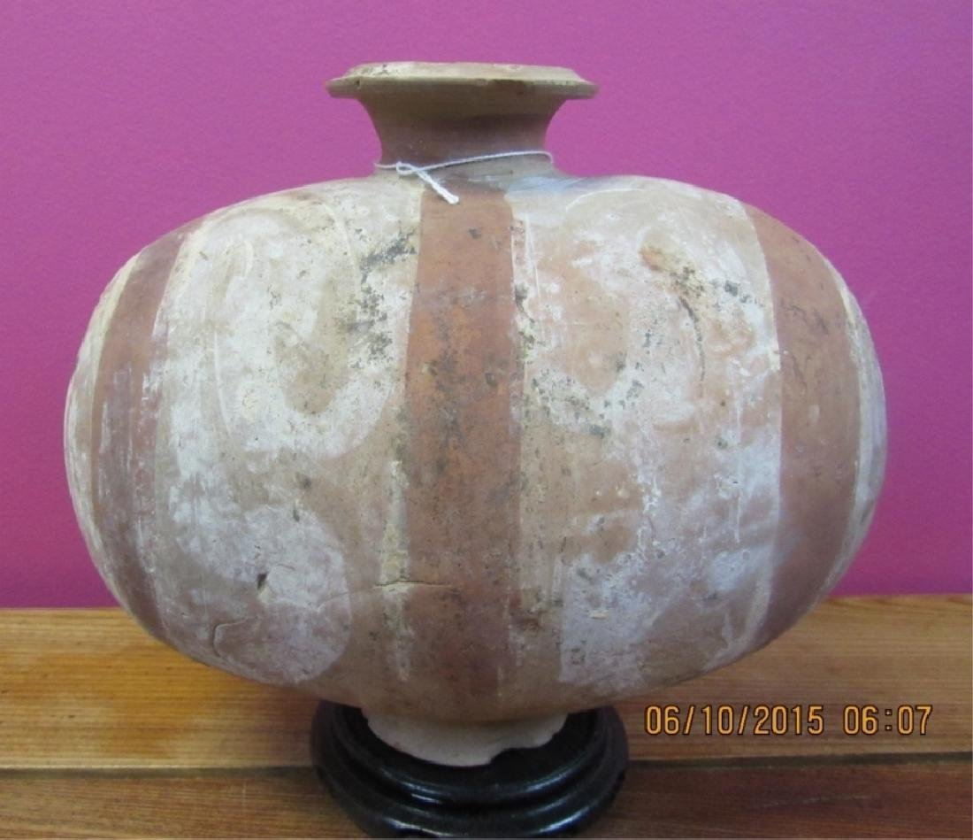 Han Dynasty Painted Pottery Vase