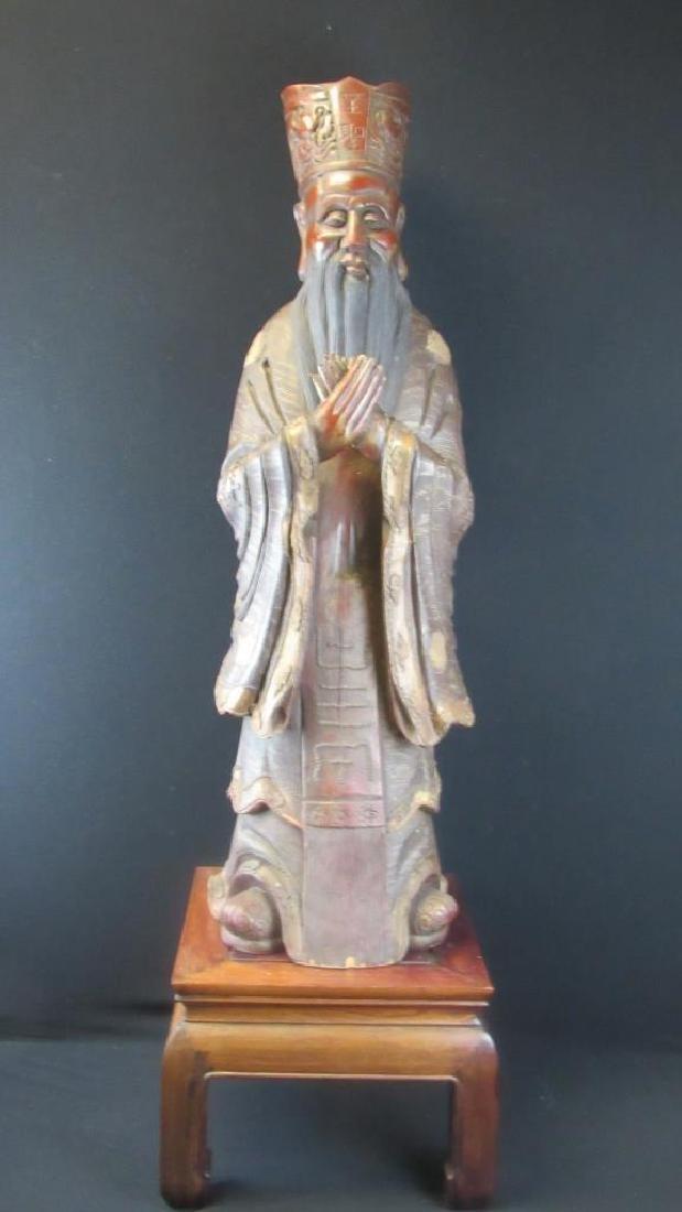 Chinese Zhangmu Sage Statue