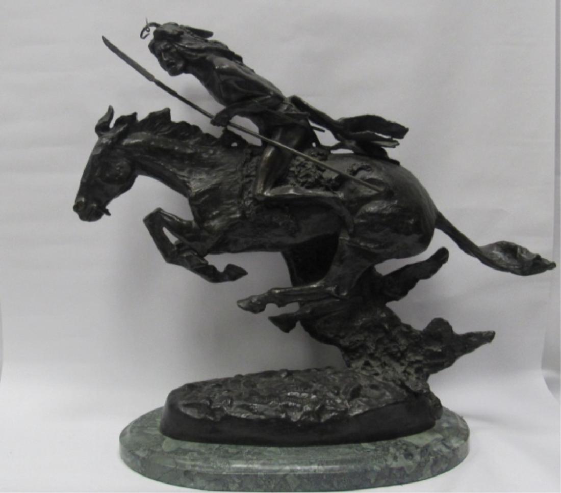 Equestrian Bronze Statue