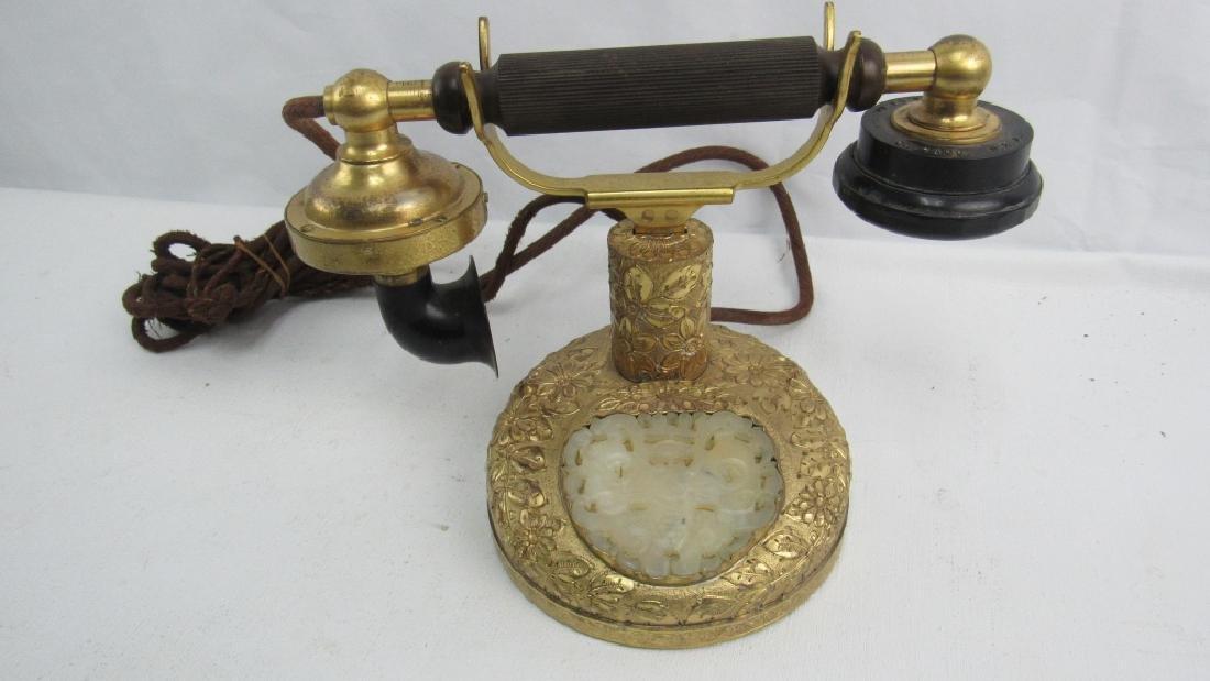 Vintage Landline Gold Phone