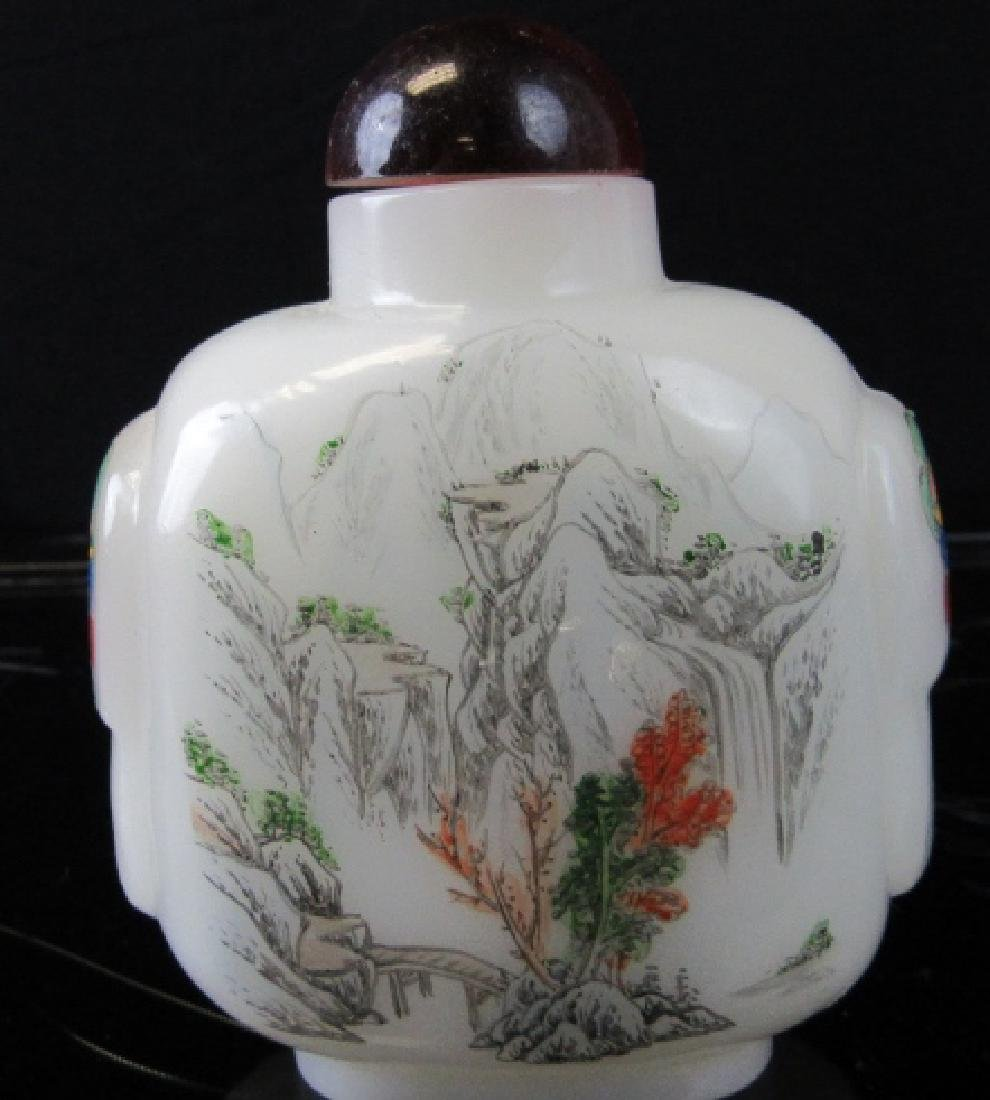 18th Century Peking Glass Snuff Bottle