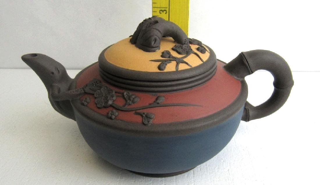 Fired Clay Chinese Teapot