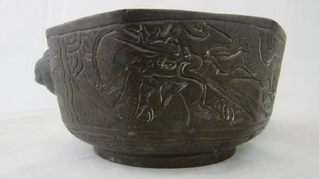 Antique Chinese Bronze Bowl
