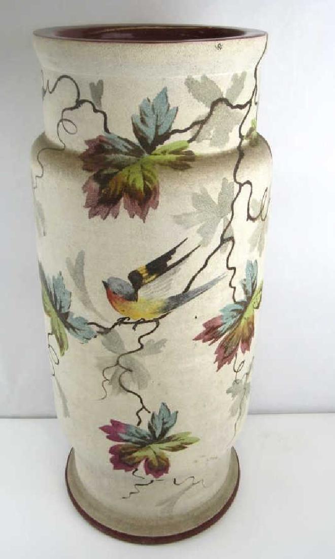 Italian Glazed Pottery Vase