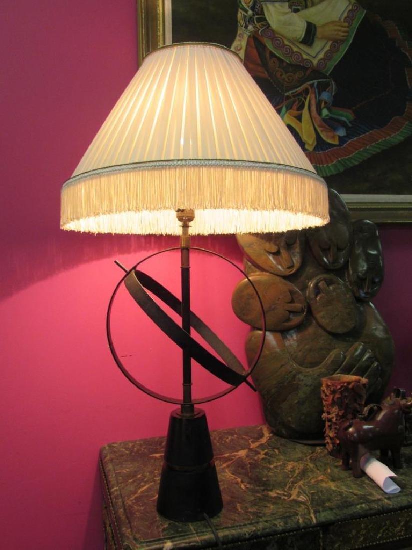 Vintage Gyroscope Table Lamp