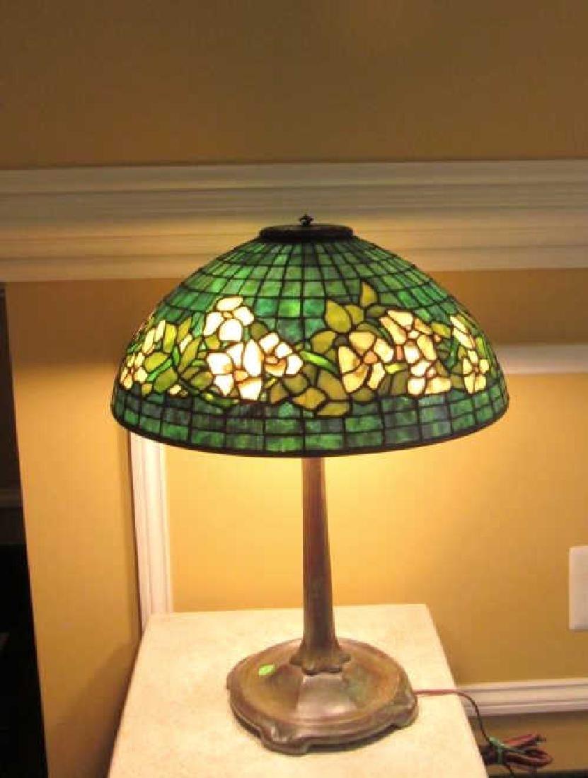 Vintage Tiffany Studios Designer Table Lamp