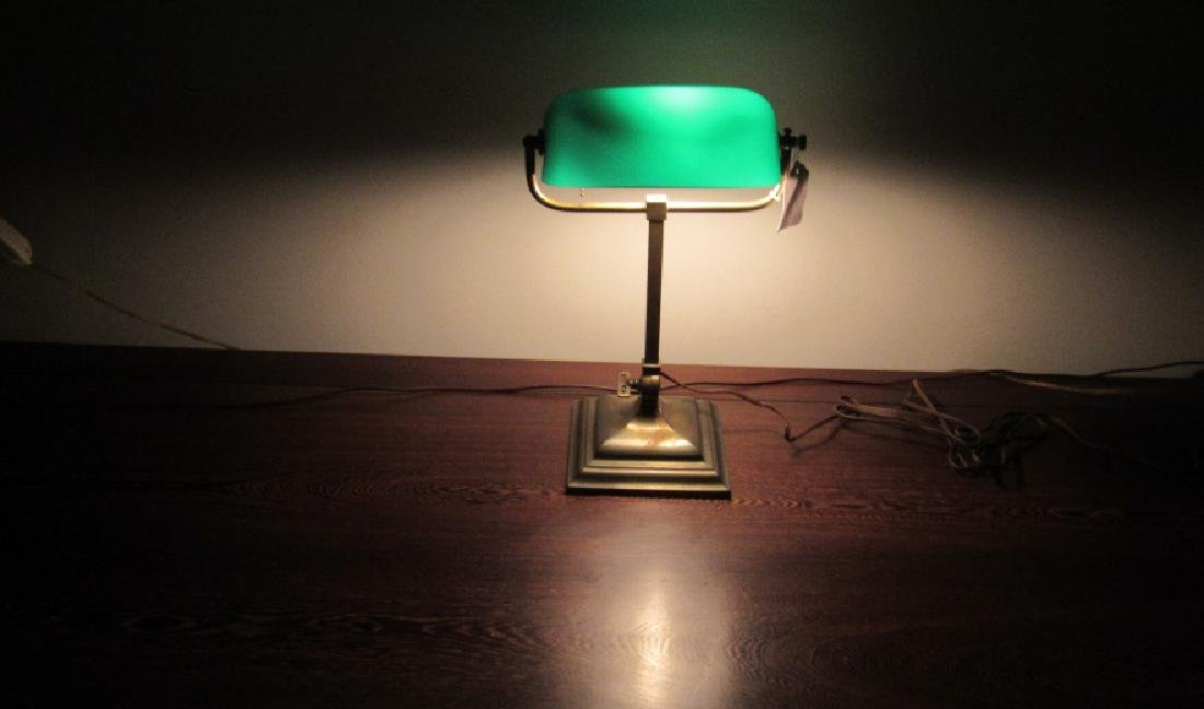 Vintage Copper Electric Lamp