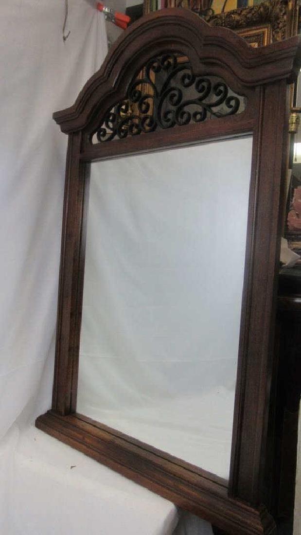 Vintage Victorian Hanging Mirror