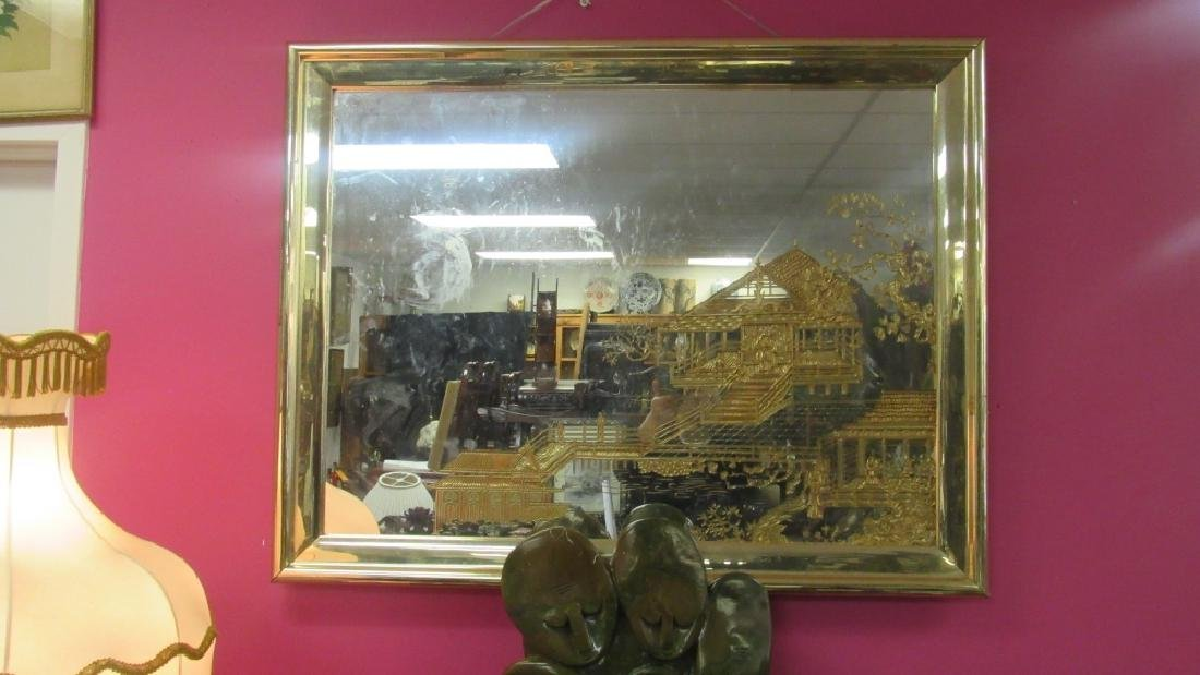 Gold Gilt Hanging Mirror